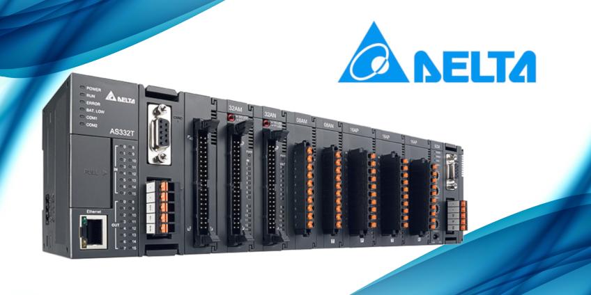 Charakterystyka sterowników PLC AS300/AS200 od Delta Electronics
