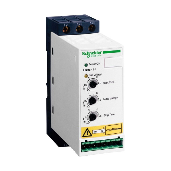 Softstart 0,75-1,1kW Schneider Electric ATS01N206LU