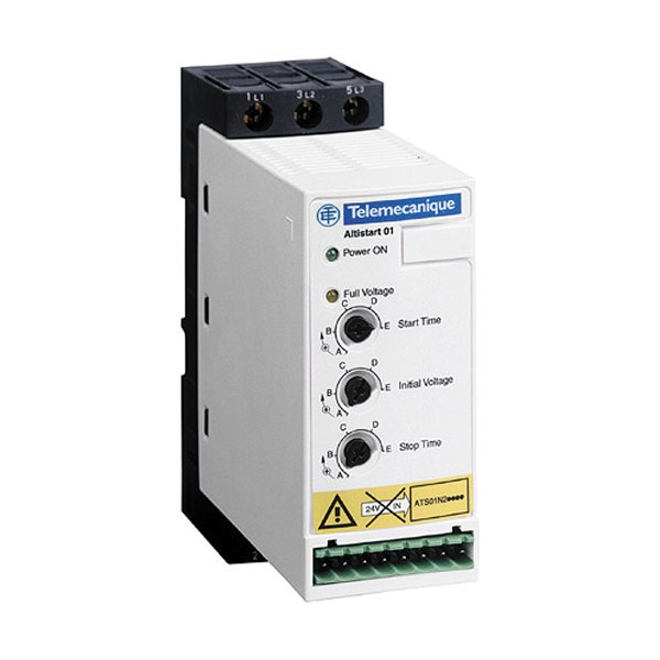 Softstart 1,5-4kW Schneider Electric ATS01N209QN
